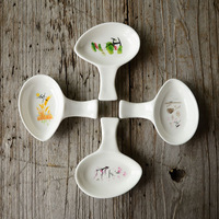 Endulge japanese style tableware mustard small dish weidie Small soy sauce dish vinegar dish plate thermos 2 disgusts