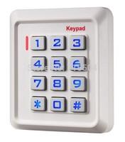 Standalone keypad access control K30EM White