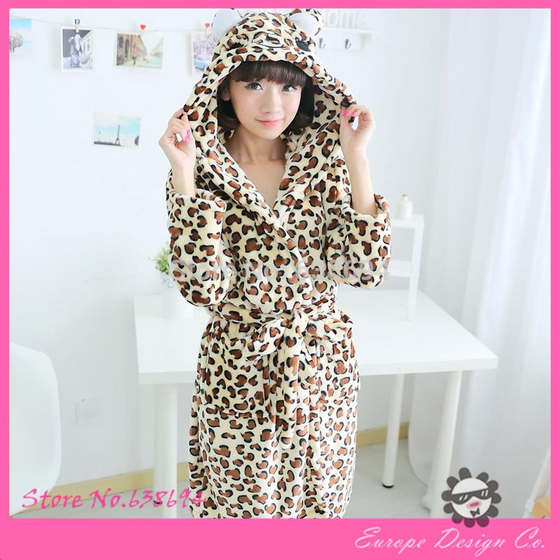 Flannel bathrobe 7