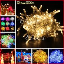 20M 9 Color AC110/220V Led String Light 200 Leds Wedding Partying Xmas,Christmas Tree Led Decoration Lights(China (Mainland))