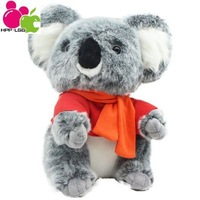 Plush Toys Stuffed Dolls For Girls Anime Animals Classic Toys For Children Brinquedos Lover Gifts Brinquedos T-Shirt Koalas 30cm