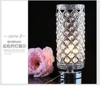 Modern minimalist living room bedroom bedside lamp eye lamp led crystal lamp crystal creative Table Lamps