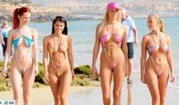 Sexy beach bikini bronzing leotard temptation sexy lingerie sexy dresses in Europe and America