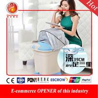 New Massage foot bath foot bath  feet deep barrel heating basin bucket  heat foot bath massage best Christmas gift for parents