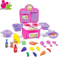 Classic Toys For Children Kitchen Toys Sets Pretend Play Learning & Education Boys GirlsToys Kids Gifts A5 Pink