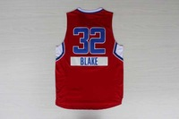 2014 -15 christmas day #32 BLAKE GRIFFIN Men's basketball jersey red