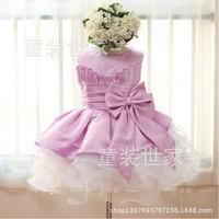 2014 New Arrival Flower Princess Girl Dress Lace Party Wedding Birthday Girls Dresses Christmas Costumes Princess tutu Elegant