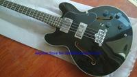 2015 NEW Black BASS 4 strings Bass Hollow Body JAZZ BASS China guitar bass