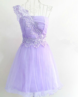 New Princess Style 2014  wedding dress, bridesmaid dress beautiful flowers / wedding short dress / for banquets, parties