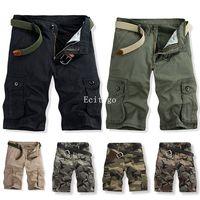 2015 New Men Mens Boys Casual  Xmas Army Cargo Combat Camo Cotton Camouflage  Pants 6 colors A2