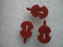 6 PCs TOURTE Violin mute Red color