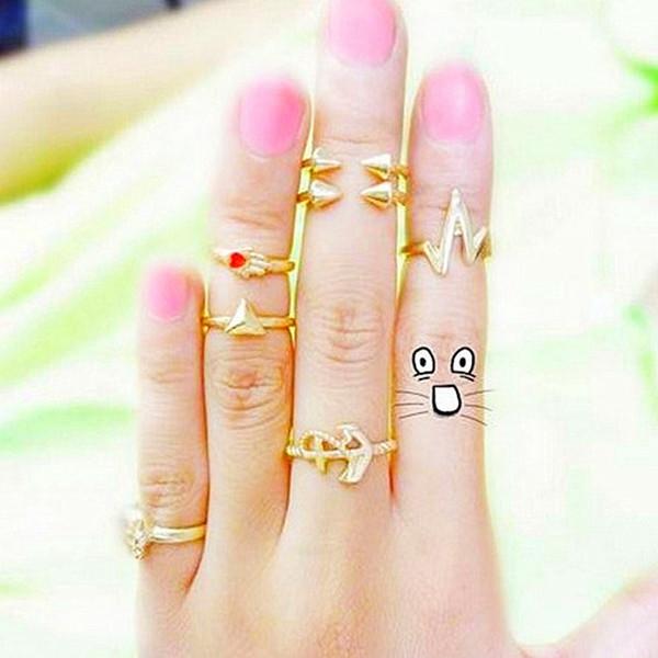 Кольцо NO  Rings кольцо yc size6 14 8 rings