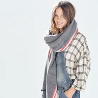ZA New Brand Winter Women's Cashmere Scarf High quality Fashion Shawl Scarves Warm Free Shipping