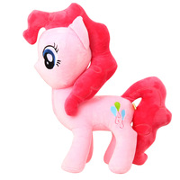 Big Size 40CM horse Plush Toy baby comfort doll plush toys Doll Kawaii Cute best gift  Christmas New Year Birthday for kid baby