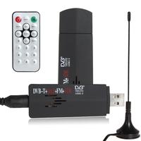 ROHS Digital USB 2.0 TV Stick FM+DAB DVB-T RTL2832U + R820T Support SDR Tuner Receiver