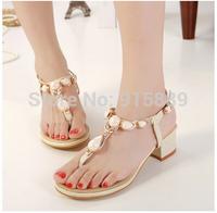 Department of gem stones sweet lady beach thong flip Xia Tianping women shoes 520-28