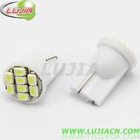 Free shipping 100PC/lot  T10 led car bulb, 8 SMD 1206 side light,car led light, interior LED Auto Lamp,interior led T10 1210