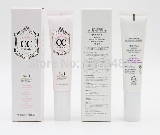 2014 newest moisturizer etudehouse CC creams wholesale makeup korean cosmetics concealer bb creams(China (Mainland))
