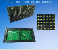 Free shipping!waterproof moudle/  P10 outdoor Yellow LED display moudle /1Y  LED display moudle