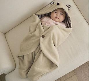 Footmuff Baby Parisarc Blanket Infant Hoodie Swaddle Swaddling Sleeping Bag Cart Stroller Sack Newborn Autumn Winter
