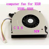 BRUSHLESS vga fan for ASUS X51R X51RL X51H DC5V 0.19A free shipping