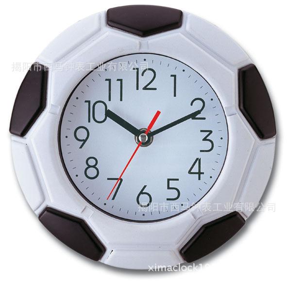 Football Design Wall Clock : Popular football wall clocks from china aliexpress