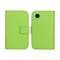 New PU Wallet Leather Case Cover for LG L40 D160 with Stand & Card Holder Phone Cases Green Black White 3 Colors