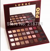 10pcs/lot Newest Lorac mega Pro Palette 32Colors MAKE UP Eyeshadow