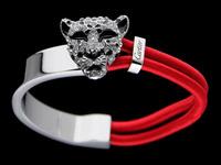 New Unique Cool Leopard Head Cuff Bracelet For Men/ Women Plated Alloy Bracelets Bangles