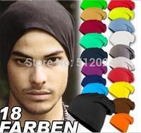 100pcs/lot  New Fashion Winter Men Women Solid Color Elastic Hip-Hop Cap Beanie Hat Slouch 9 Colors Free Size