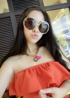 Ks magazine vintage cutout metal sun glasses sunglasses
