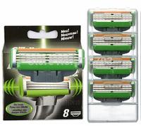 High quality 8pcs/lot Power Electric Shaving 3 Blade System Razor Blades Standard for Men RU & Eu US