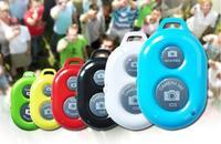 Sale 200pcs/lot 2014 hot wireless Bluetooth Remote Shutter Camera Control Self-timer Shutte