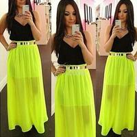 2014 New vestido de festa V-Neck Dress Sexy Sleeveless Chiffon Dress Party Mini Dress Women's Summer evening dress b9 CB033377