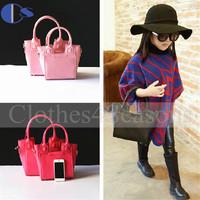 2014 Princess Girls Accesories Brand Design Vogue Sac Kid Child Girl Party PU Shoulder Messenger Bag For Children