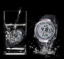 New Fashion Men Sport Watches SYNOKE Brand LED Electronic Digital Watch 50M Waterproof Outdoor Dress Wristwatches Military Watch