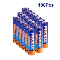 100PCS Ni-MH  AA1300mAh 1.2V Rechargeable Battery for Camera,Game Player,Toys etc US Direct Fast Shiiping Only