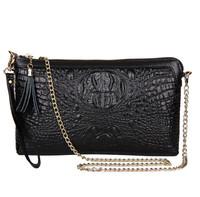 Women Bag Genuine Leather Bag chain Evening FemaleTassel Women Handbags Shoulder Messenger Bags Clutches Bags Ladies