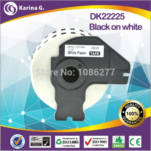 Лента для печатающего устройства Kgofficeservice ql/1060n, ql/1050, ql/700, ql/570, ql/580n ql/720nw, DK22225 38 * 30.48, for DK22225 lables akara ql 205a