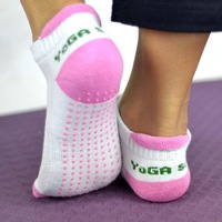 Professional PVC Granules Sweat-absorbent Non-slip Yoga Socks Antibacterial Massage Combed Cotton Thermal socks Quality