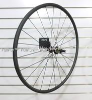 FULLFUN 20mm 20.5mm Tubular Carbon Wheelset 700c Basalt Brakes Road Bike Novatec 372 UD Matte Rear Wheels Aero Spokes 24 Holes