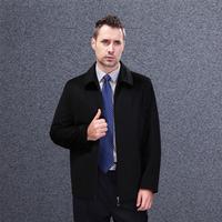 new fashion men  wool coat  mens business jacket for  mens widbreaker men's outerwear