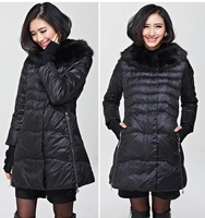 2014 Large Size Women Fat MM Winter New Korean Slim Warm Cotton  Long Jacket Coat Plus Size Women Clothing Trench Coat for Woman