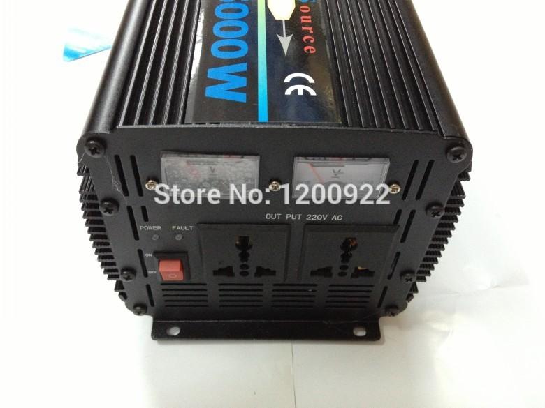 12V To 220V 5000W DC/AC home Power Inverter UPS Charging Solar/Wind Energy(China (Mainland))