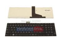 free shipping+laptop keyboard for Toshiba Satellite C850 C870 series US replacement keyboard 100% brand new