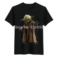 New Arrival Star War Yoda T Shirt Men Casual Tops Tshirt Fashion Camisetas Good Qualuty Tees