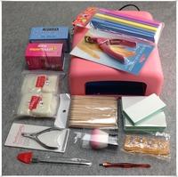 23Pcs/Set UV Gel Tools Kit, Nail Art DIY Basic Manicure Tools Sets + Free Shipping