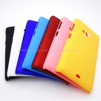 luxury rubber touch matte hard pc case for Nokia lumia 535 for microsoft lumia 535 case