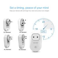 Smart Wifi Plug Socket Wireless Remote Control Plug Socket Intelligent Smart EU/UK/US/AU Socket Plug