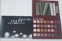 1pcs/lot Newest Lorac mega Pro Palette 32Colors MAKE UP Eyeshadow